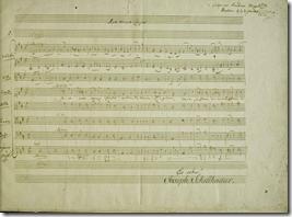 Ave Verum Corpus: partitura autografa di Mozart.